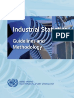 Manual of Industrial Statistics UNIDO