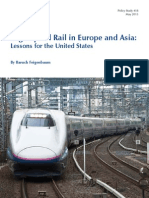 High-Speed Rail in Europe and Asia