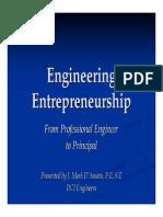 Engentrepreneurship