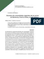 Floristica Comunidades de Un Sector de Matanzas Puerto Ordaz -  Wilmer Díaz  y Santos Carrasco - Venezuela