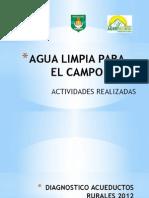 Agua Limpia Para El Campo Presentacion Alcaldia