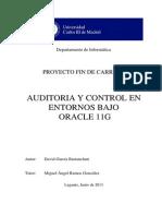 PFC David GAUDITORIA Y CONTROL EN ENTORNOS BAJO ORACLE 11