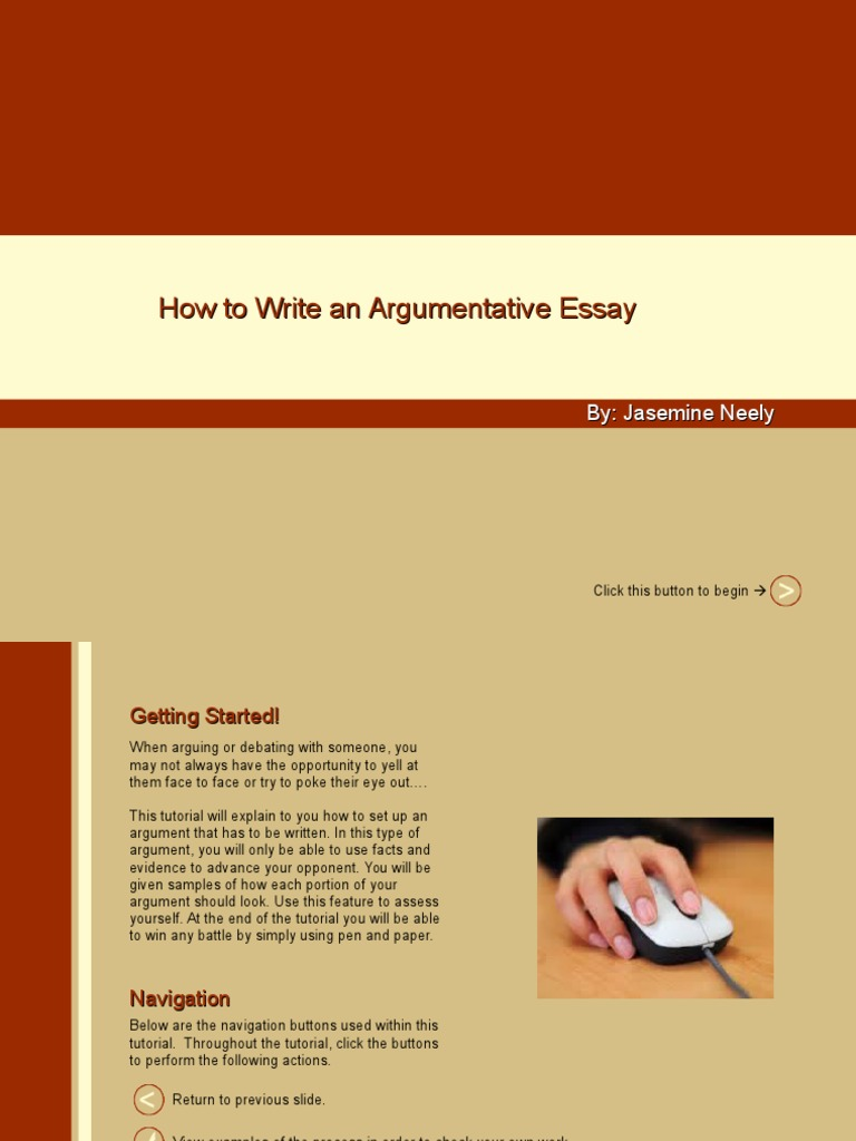 Williams Essay  The Crucible Essay also Expository Essay Structure How To Write An Argumentative Essay Tutorial  Argument  Advertising Famous Narrative Essays
