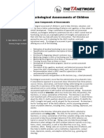 Screening and Assessment Brief