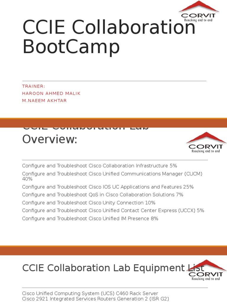 CCIE Collaboration   Ip Address   Cisco Systems