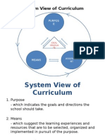 Curriculum Development System
