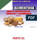 Serie Procesamiento de Alimentos - Mezclas Alimenticias (Mezcla de Cereales y Leguminosas) 2015