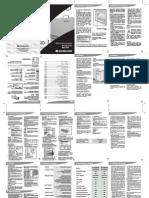 Manual de Instrução Refrigerador RCCt37