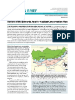Review of the Edwards Aquifer Habitat Conservation Plan
