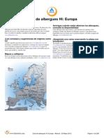 HI Guia de Albergues Juveniles Europa