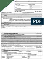 Tabela de Verificacao de Rotulagem