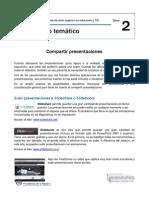 Módulo Temático Clase 2 - Compartir Presentaciones