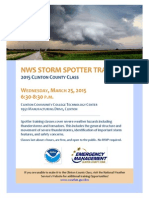 2015 NWS Storm Spotter Training