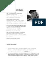 Coração Habitado - Eugénio de Andrade