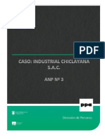 ANP 3 - Caso Industrial Chiclayana SAC