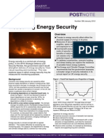 Measuring Energy Security