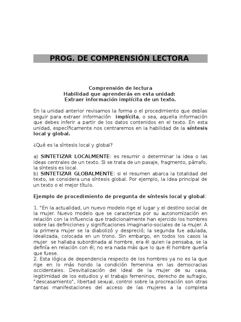 Perfecto Ejemplos De Resumir Resumen De Habilidades Colección de ...