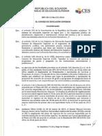 Reglamento de Presentación y Aprobación de Carreras y