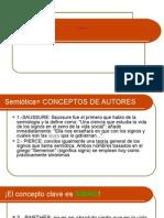 Conceptos de Semiótica
