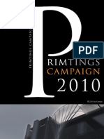 Primtings Campaign Booklet 2010