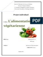 Projet Individuel Nutritie PDF