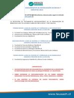 Recepción de Documentos de Renovación de Becas y Créditos 2015
