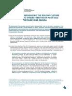 Indicadores Cultura ODM Pós 2015 (ENG)