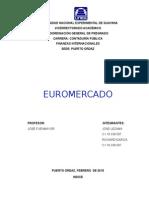 Trab. de Finanzas Int. Euromercado