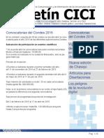 Boletín CICI N° 61