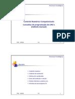 Conceitos de Programação Cncs - Metodo Manual