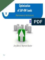 BI OptimizationLoads ABAP BIAnalyst