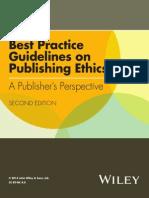 Best Practice Guidelines on Publishing Ethics 2 Ed