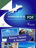 Chamapions of Sales- Programa Cuba