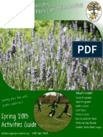 Spring 2015 Activities Guide