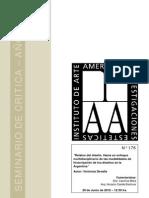 relatos de diseño-hacia un enfoque multidisciplinario de las modalidades de historización de diseños en la Argentina