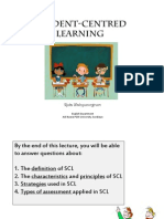 Lecture 1-Student Centred Learning