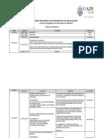 Programa VII Congreso
