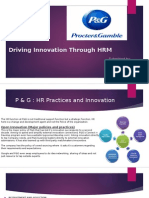 Driving Innovation Through HRM - P&G