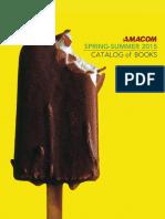 AMACOM Spring-Summer 2015 Catalog