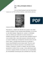 Filosofo Epicuro