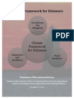 The Climate Framework for Delaware