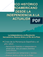 Clase 1 Literatura Hispanomericana (marco histórico)