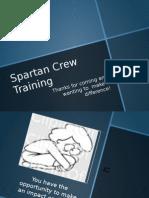spartan crew training