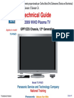 Panasonic TC-P54Z1 (Chassis GPF12ZU) 12th Generation 2009 Technical Guide Training PLASMA