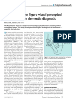 The Poppelreuter Figure Visual Perceptual