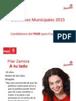 Candidatura PSOE Elecciones Municipales 2015