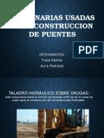 Maquinaria Para La Construccion de Puentes y Pasos