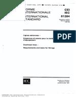IEC 61284 1997 09 Requerimientos y Pruebas Para Herrajes