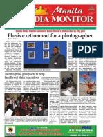 Manila Media Monitor --JANUARY 2010