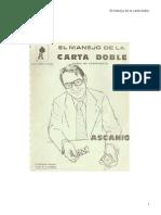 El Manejo de La Carta Doble-Arturo de Ascanio